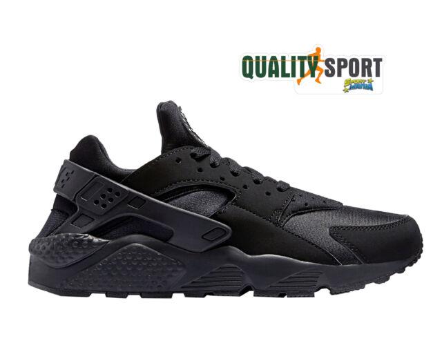 Nike Air Huarache Nero Scarpe Shoes Uomo Sportive Sneakers 318429 003