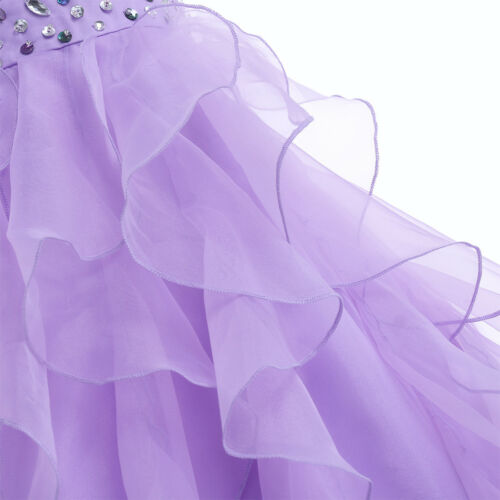 Flower Girl Dress Formal Wedding Bridesmaid Pageant Gown Princess Long Dresses