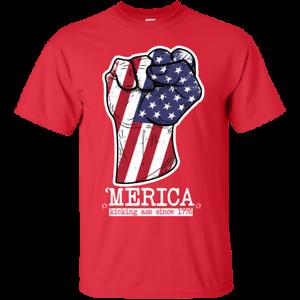 /'Merica kickin ass since 1776 shirt America t-shirt