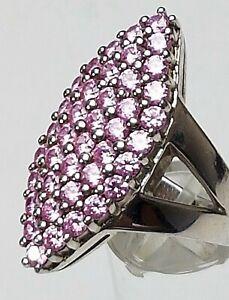 Massiver-Design-Silber-Ring-925-punziert-Schmucksteine-rosa-pink-RG-59-18-8-mm