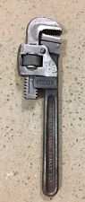 """Trimo 10"""" Vintage Pipe Wrench Drop Forged Alloy Steel USA Made Rare Collectable"""