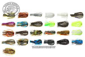Replacement Spinnerbait Jig Skirts TSD Core Quick Change 5pk - Pick
