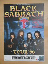 BLACK SABBATH    1990    OFFENBACH    orig.Concert Poster   84 x 60 cm