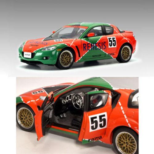 1 18 Autoart MAZDA rx-8 Le Mans  55 Renesis nouveau dans neuf dans sa boîte-Rare Limitée 1 3000