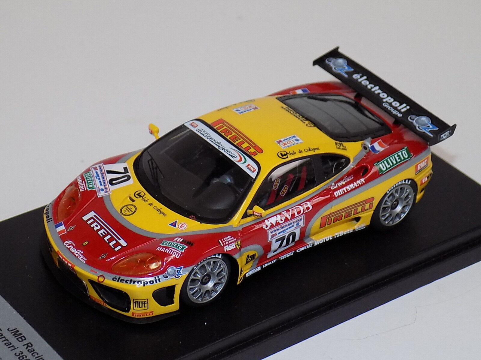 1 43 AB Models Ferrari 360 GT  JMB Racing  70 2003 LeMans  GP009