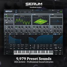 THE BEST Serum Soundbanks - HUGE 3Gb Archive! NEW Professional Studio Libraries