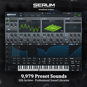 THE-BEST-Serum-Soundbanks-HUGE-3Gb-Archive-NEW-Professional-Studio-Libraries