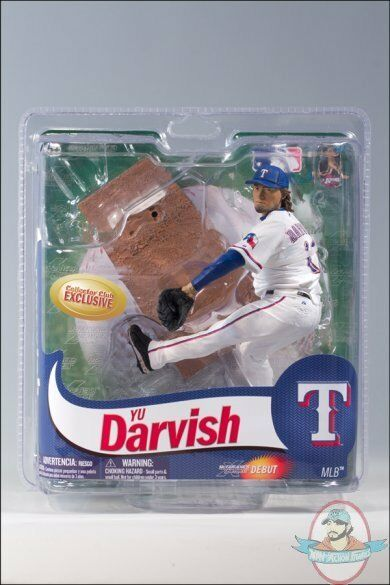 MLB Yu Darvish Texas Rangers Action Figure Club Exclusive by McFarlane