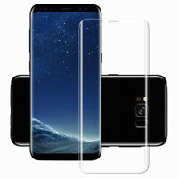 Full Curved 3D Tempered Glass Screen Protector Film Samsung Galaxy S8 -CLEAR
