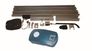 Antrieb Garagentoröffner Garagentorantrieb Set mit Kette und Laufschiene   100kg