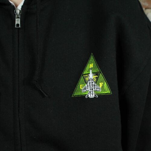 S l rits m In met Disaster Capuchon hoodie xl Huf zwart Triangle maat Ops 7XAwBWqv