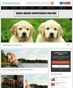 PET-SUPPLIES-STORE-Business-Website-For-Sale-Mobile-Friendly-Responsive-Design