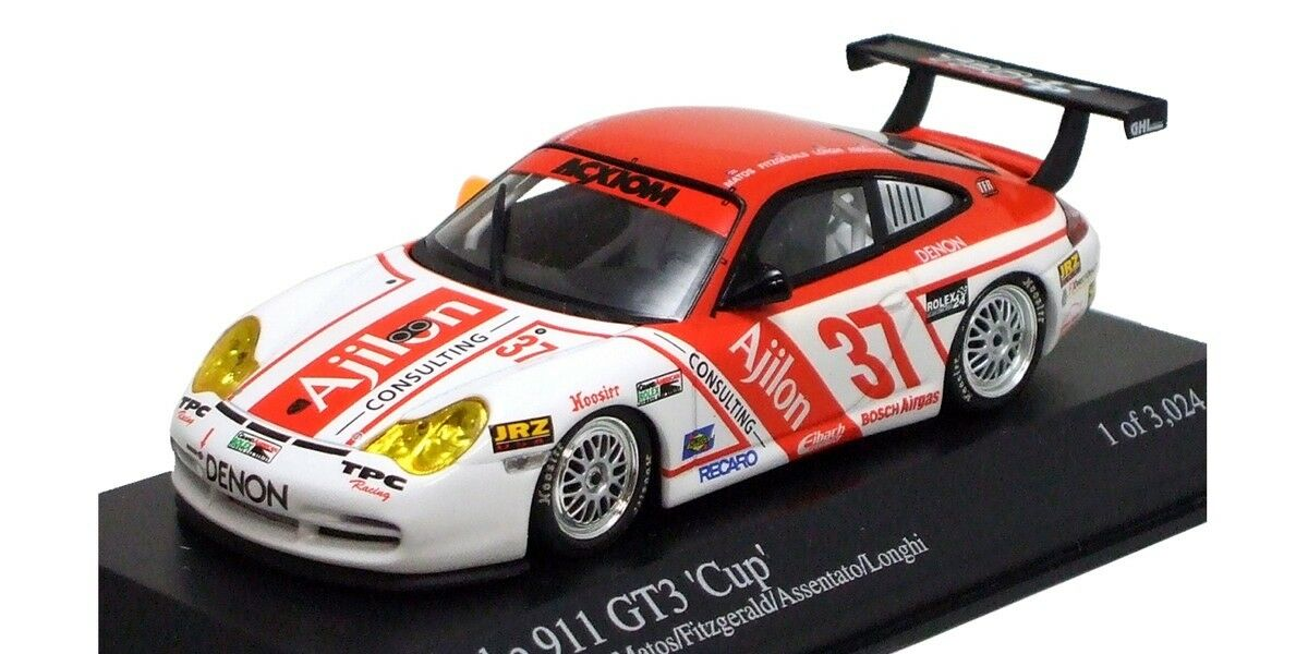 Minichamps 1 43 Porsche 911 GT3 Cup Cup Cup 24 H DAYTONA 2005 Edición Limitada 4d0e72
