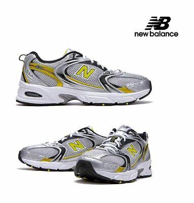 New Balance 530 Retro Silver Yellow Running Shoes MR530SC Men's   eBay