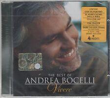 ANDREA BOCELLI VIVERE PAUSINI GIORGIA CELINE DION CD SIGILLATO!!!