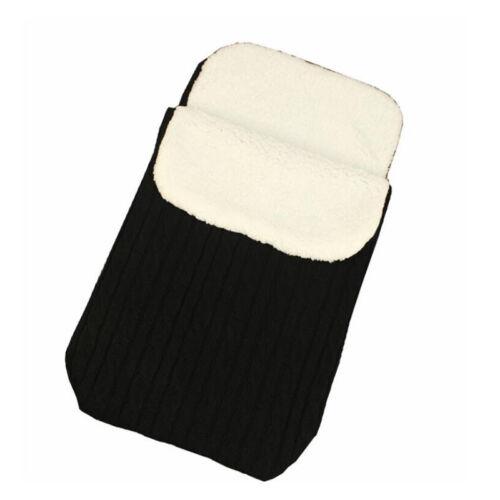 Baby Winter Knitted Wrap Blanket Stroller Sleeping Bag to keep Warm