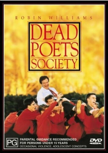 1 of 1 - Dead Poet's Society (1989) Robin Williams - NEW DVD - Region 4