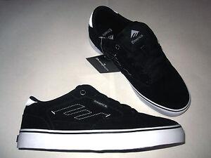 Emerica-The-Jinx-2-Black-White-Neu-Original-Skateboard-skate-shoe-new