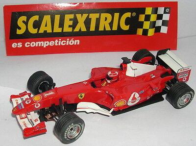 Elektrisches Spielzeug Purposeful Scalextric 6173 Ferrari F1 2004 #1 Vodafone M.schumacher Mint Unboxed Clear-Cut Texture