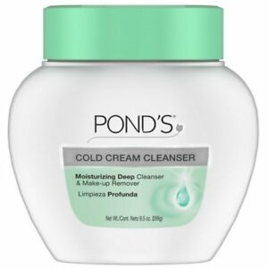 Ponds Cold Cream Cleanser 9.50 oz (Pack of 4) Blue Light Photon Cold Ice Hammer Massager Cell activating Dark Circles Firms Skin Rejuvenation Skin Care Beauty Device
