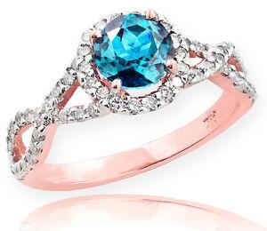 Rose-Gold-Aquamarine-Birthstone-Infinity-Ring-with-Diamonds-Engagement-Wedding