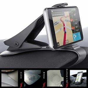 Universal-Adjustable-Antiskid-Car-Phone-Holder-Clip-HUD-Design-Dashboard-Mount