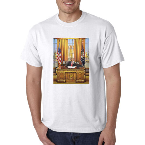 Donald Trump in Oval Office T-Shirt President Political Republican Tee
