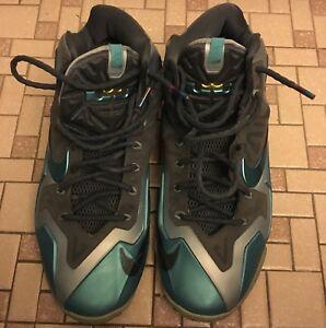 Image is loading Nike-Lebron-XI-Gamma-Blue-Armory-Slate-Size- a709e561e