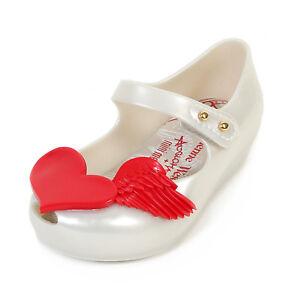 differently superior quality genuine shoes Genuine Vivienne Westwood + Mini Melissa UltraGirl Cherub White ...