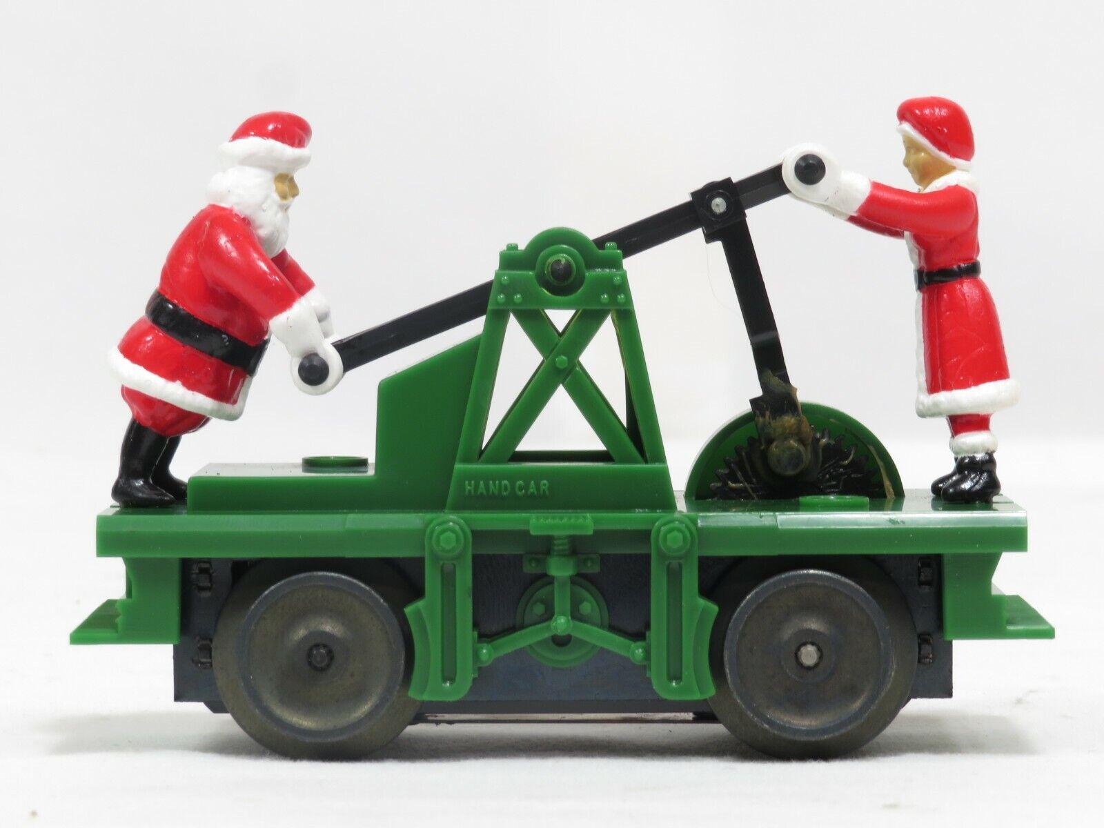 LIONEL 6-18403 Operating Santa Hand Car LN
