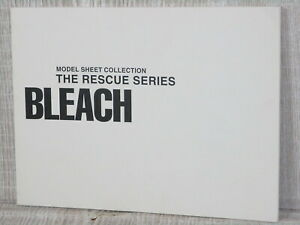 BLEACH-Model-Sheet-Collection-Rescue-Series-TITE-KUBO-Book-2006-Ltd
