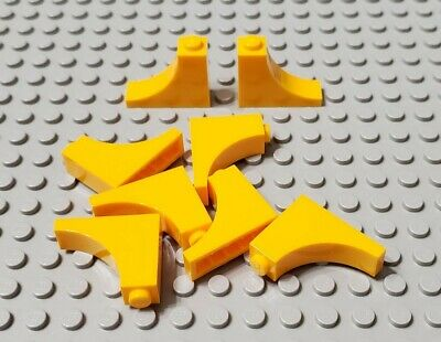 LEGO New Lot of 2 Yellow 1x3x2 Arch Creator Brick Pieces