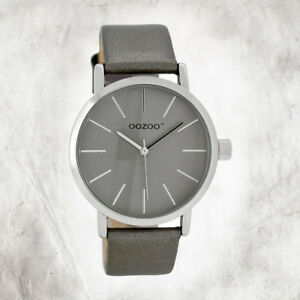 Oozoo-Quartz-Watch-Children-Adoloscent-Silver-Jr-Edition-40mm-Leather-Wrist-Band