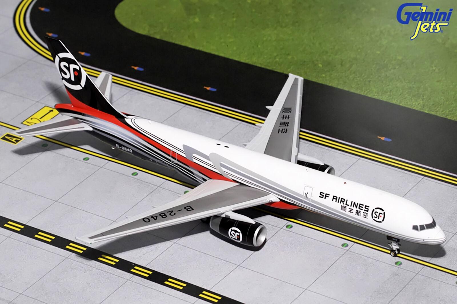 Gemini200 sf airlines boeing boeing boeing 757-200f g2css657 1   200, reg   b-2840.neue 637568