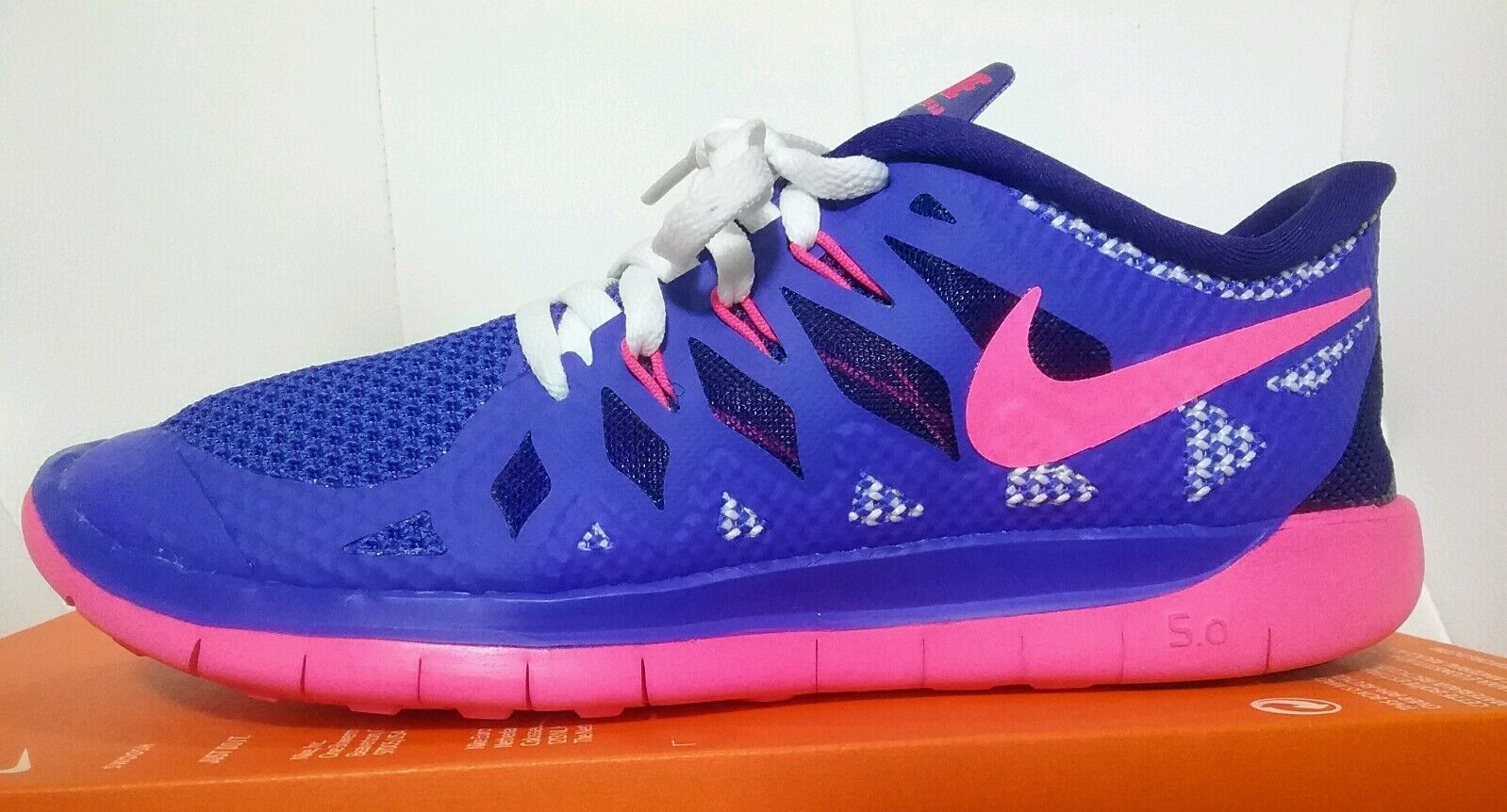 Nike free 5.0 GS Training Lauf schuhe Schuhe Jogging Turnschuhe Fitness schuhe Neu Das hochwertigste Material