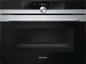 einbau kompaktbackofen mit mikrowelle siemens cm633gbs1 iq700 edelstahl ebay. Black Bedroom Furniture Sets. Home Design Ideas
