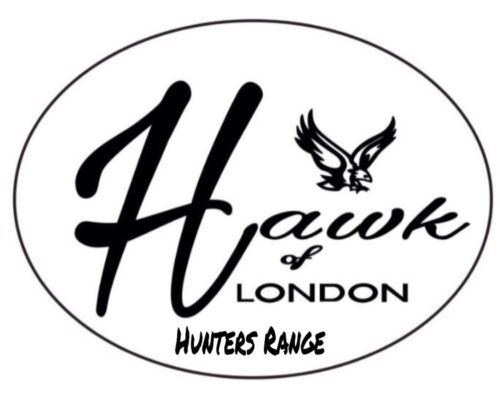 HAWK 6 Oiseau Cuir jeu Transporteur Hanger Shooting duck pigeon faisan chasse BLK