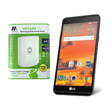 LG X Power 16GB LTE Smartphone for Boost Mobile with Power Bank - New