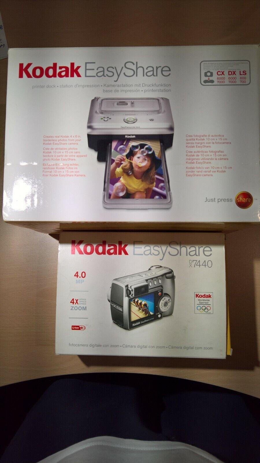 Cámara + Impresora fotográfica Kodak PictBridge impecables