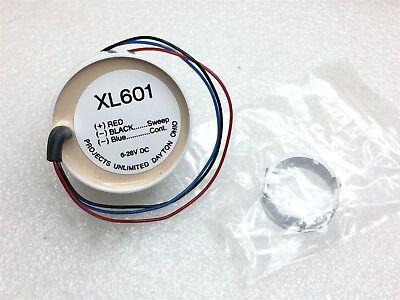 XL-601-WHITE PUI AUDIO PIEZO IND 9-28V PNL MNT 2 PIECES