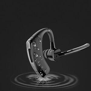 Bluetooth-Headset-V4-0-Stereo-Kopfhoerer-Kabellos-Freisprech-Ohrhoerer-Schwarz-DHL
