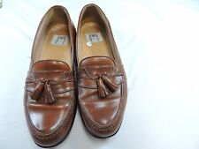 Cable & Co. brown tassel loafers size 10.5