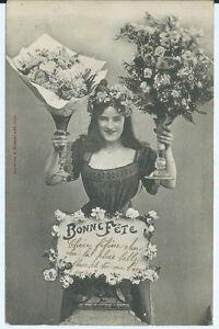 CPA-Carte-postale-Bergeret-Bonne-Fete