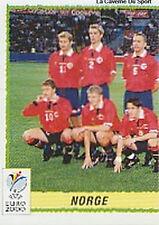 N°234 EQUIPE TEAM 1/2 NORGE NORWAY PANINI EURO 2000 STICKER VIGNETTE