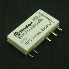 Ultra-slim 6A SPDT Relays 24V Coil