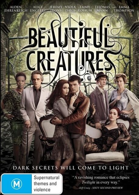 Beautiful Creatures (DVD, 2013) Never watched. Free Postage.