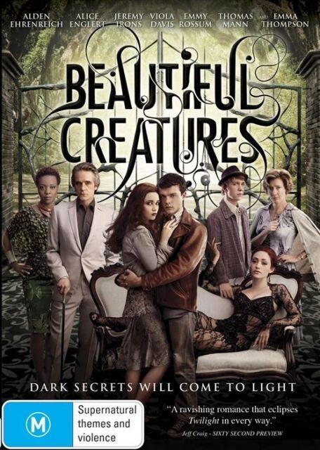 Beautiful Creatures (DVD, 2013) Alice Englert, Eileen Atkins, Emma Thompson