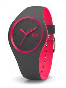 Ice-Watch-Uhr-Unisex-Armbanduhr-Duo-Grau-Neon-Pink-10-Bar-001501