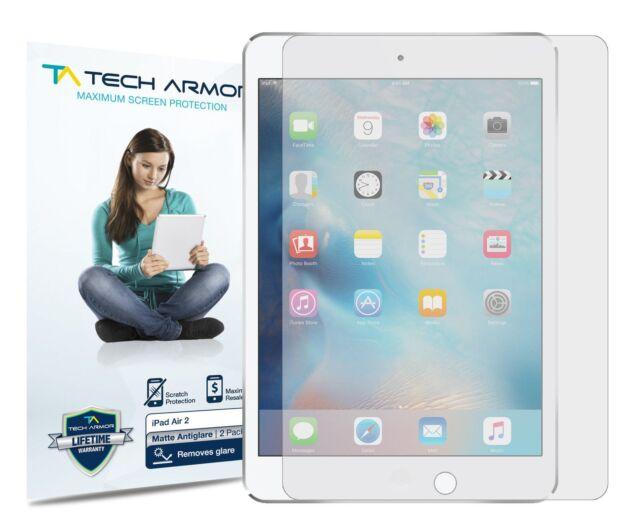 Gen. 5//6 Tech Armor AntiGlare Matte Screen Protector 2Pk for Apple iPad Air 2