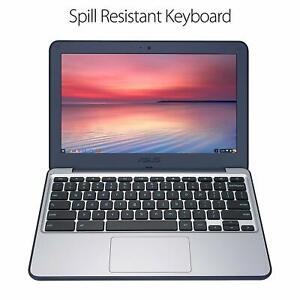 ASUS-C202SA-YS04-11-6-034-Intel-Celeron-N3060-4-GB-32GB-eMMC-Dark-Blue-Silver